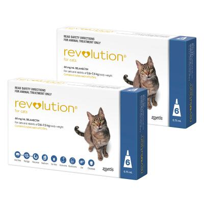 Revolution For Cats 2.6-7.5kg Blue 12 Pack