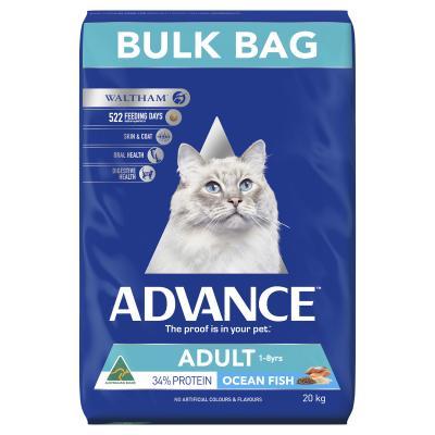 Advance Ocean Fish Adult 1-8yrs Dry Cat Food 20kg