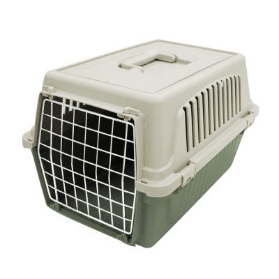 Ferplast Atlas 10 Pet Transport Carrier Crate White Green For Small Dogs Cats Animals