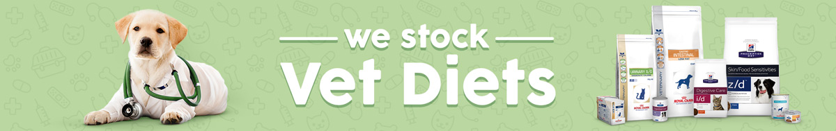 We Stock Vet Diets