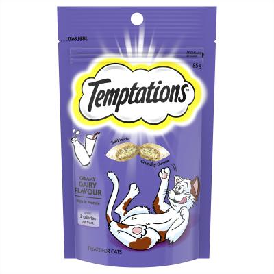 Temptations Creamy Dairy Treats For Cats 85gm