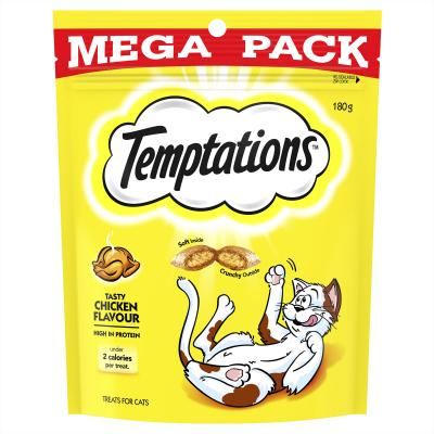 Temptations Tasty Chicken Treats For Cats 180gm