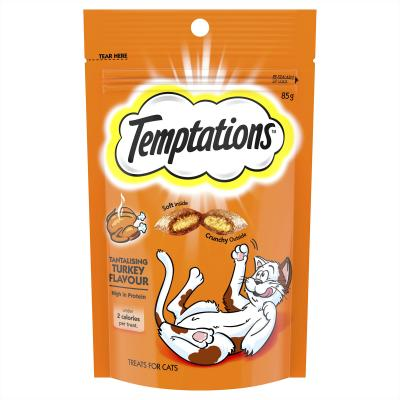 Temptations Tantalising Turkey Treats For Cats 85gm