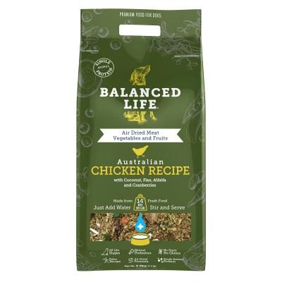 Balanced Life Grain Free Chicken Recipe All Life Stages Rehydratable Dog Food 3.5kg