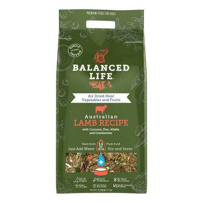 Balanced Life Grain Free Lamb Recipe Puppy And Adult Rehydratable Dog Food 3.5kg