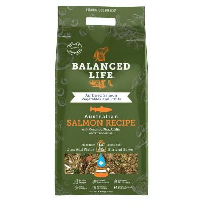Balanced Life Grain Free Salmon Recipe All Life Stages Rehydratable Dog Food 3.5kg