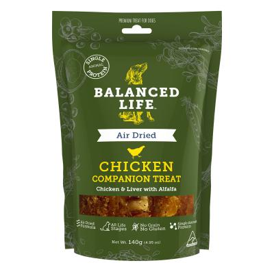 Balanced Life Grain Free Chicken Companion Treats For Dogs 140gm