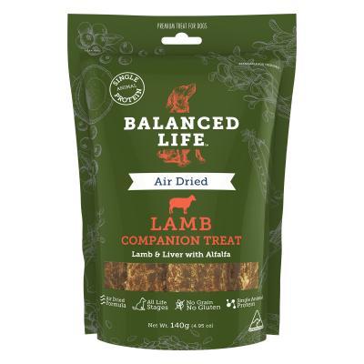 Balanced Life Grain Free Lamb Companion Treats For Dogs 140gm