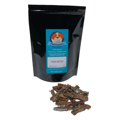 Fishtastic Dried Fish Bites Treats For Dogs 250gm