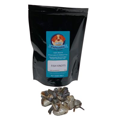 Fishtastic Dried Fish Knot Treats For Dogs 5 Pieces