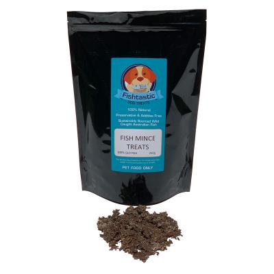 Fishtastic Dried Fish Mince Treats For Dogs 250gm