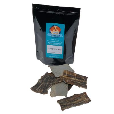 Fishtastic Super Skin Dried Fish Chew Treats For Dogs 500gm