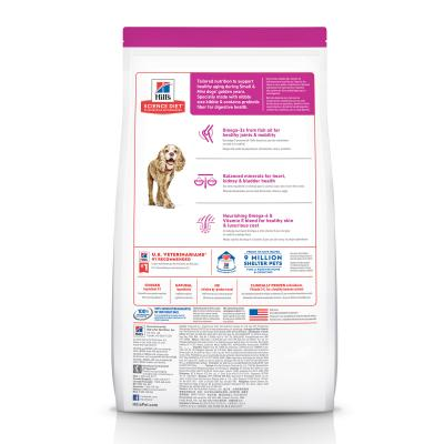 Hills Science Diet Small Paws Chicken Meal Barley Brown Rice Recipe Small/Toy Breed 11+ Mature/Senior Dry Dog Food 6.12kg (2533)