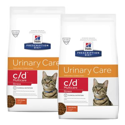 Hills Prescription Diet Feline c/d Urinary Care Multicare Stress Dry Cat Food 15.96kg (603936)