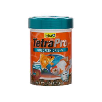 TetraPro Goldfish Crisps Food For Fish 43g