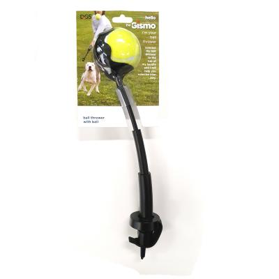 I'm Gismo Expandable Ball Thrower Black For Dogs For Use With The I'm Gismo Lead Handle