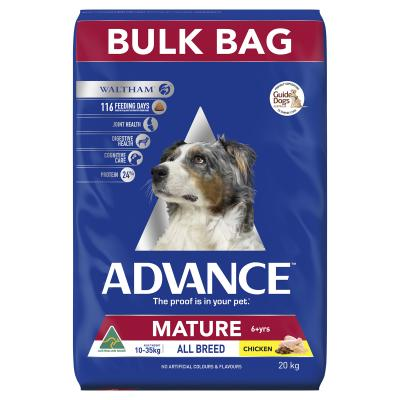 Advance All Breed Mature Chicken Dry Dog Food 20kg