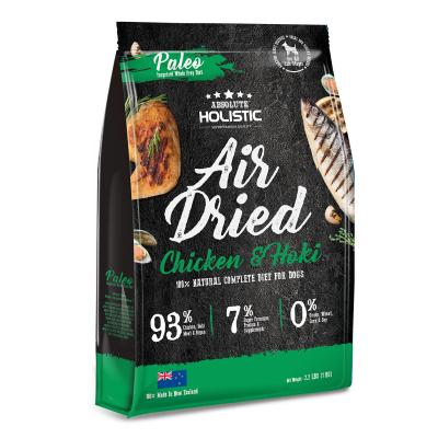 Absolute Holistic Air Dried Grain Free Chicken And Hoki Dry Dog Food 1kg