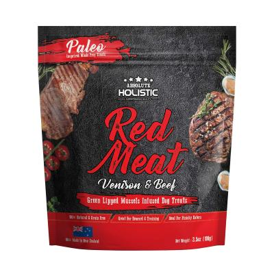 Absolute Holistic Air Dried Grain Free Red Meat Beef And Venison Dog Treats 100gm