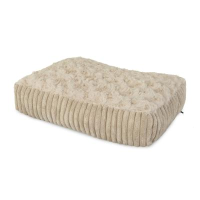 Yours Droolly Urban Indoor Cushion Cream Large Bed For Dogs
