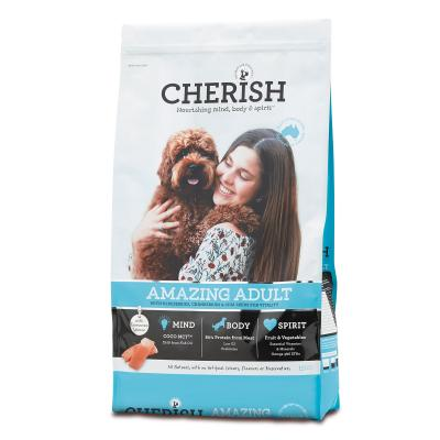 Cherish Amazing Adult Salmon And Chicken Dry Dog Food 15kg