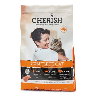 Cherish Complete Cat Adult Salmon And Chicken Dry Cat Food 8kg