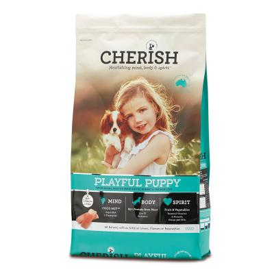 Cherish Playful Puppy Salmon And Chicken Dry Dog Food 15kg