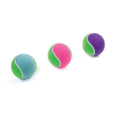 Kazoo Solid Tennis Ball Assorted Colour Large Toy For Dogs