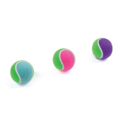 Kazoo Solid Tennis Ball Assorted Colour Small Toy For Dogs
