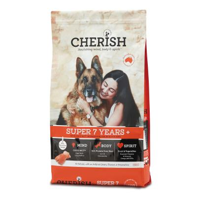 Cherish Super 7+ Years Salmon And Chicken Dry Dog Food 15kg