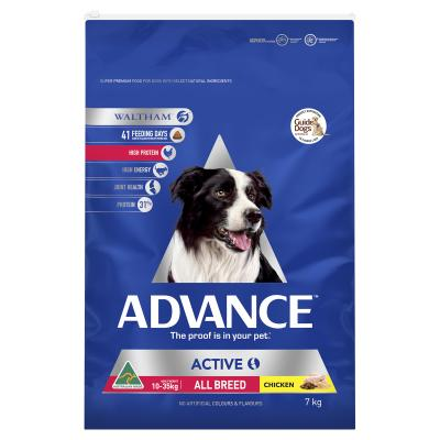 Advance Active All Breed Chicken Adult Dry Dog Food 7kg