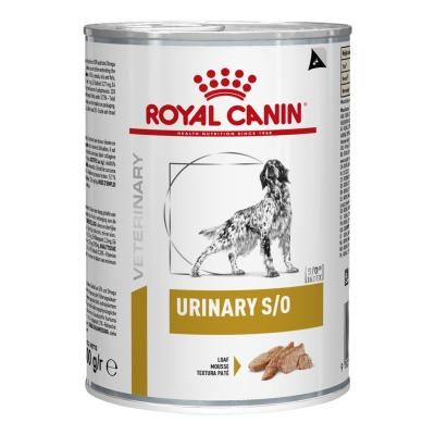 Royal Canin Veterinary Diet Canine S/O Urinary Canned Wet Dog Food 410gm x 12