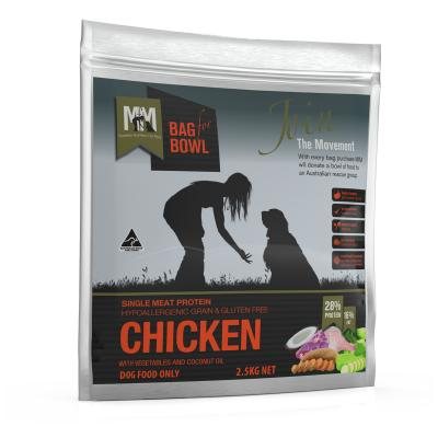 Meals For Mutts MfM Chicken Single Meat Protein Grain Free Dry Dog Food 2.5kg
