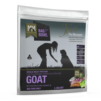Meals For Mutts MfM Goat Single Meat Protein Grain Free Dry Dog Food 2.5kg