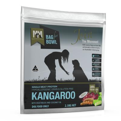 Meals For Mutts MfM Kangaroo Single Meat Protein Grain Free Dry Dog Food 2.5kg