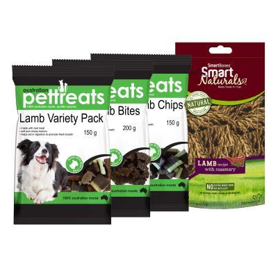 Lambalicious Variety Treat Pack For Dogs 615gm