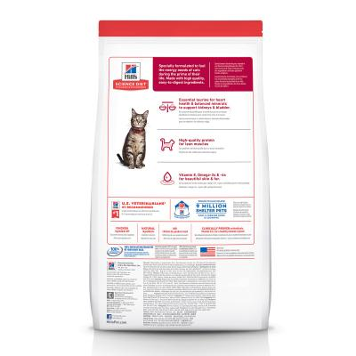 Hills Science Diet Chicken Recipe Adult Dry Cat Food 6kg With Tender Chicken Dinner Adult Wet Pouches 85g x 12