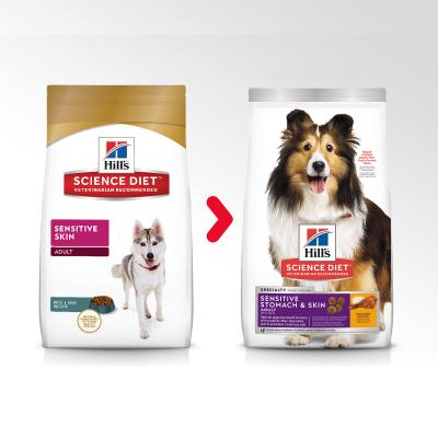 Hills Science Diet Sensitive Skin Adult Dry Dog Food 2kg  (1131HG)