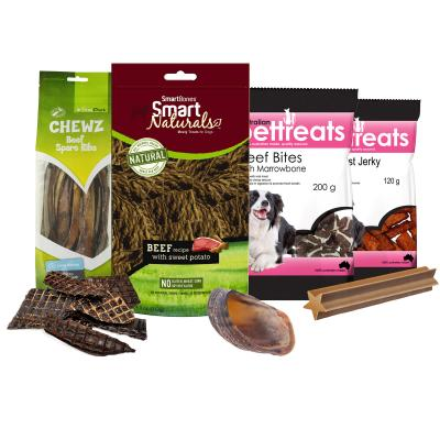 Beef Bonanza Variety Treat Pack For Dogs 1kg