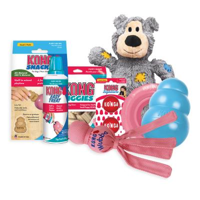 KONG Puppy Pack Treats And Small Toys For Dogs
