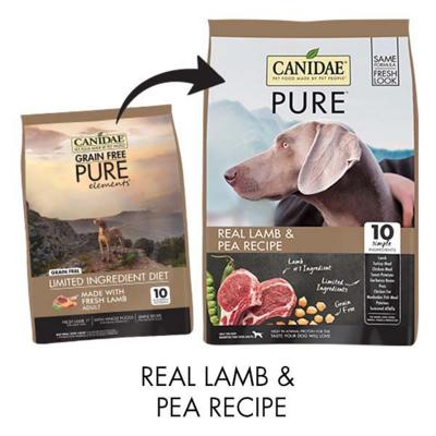 Canidae Grain Free Pure Elements Lamb Adult Dry Dog Food 10.88kg