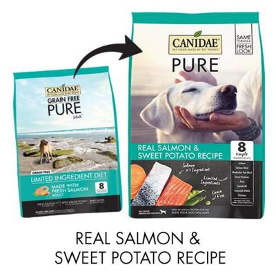 Canidae Grain Free Pure Sea Salmon Dry Dog Food 10.88kg