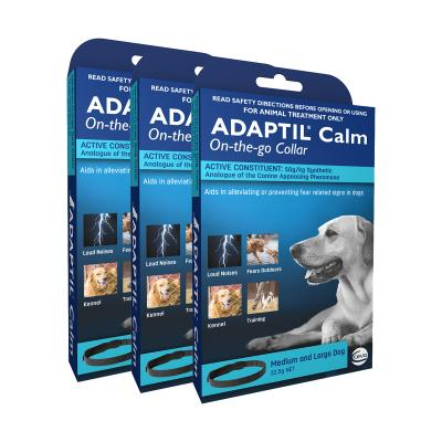 Adaptil Collar For Medium And Large Dogs 70cm Fits Necks Up To 62.5cm x 3