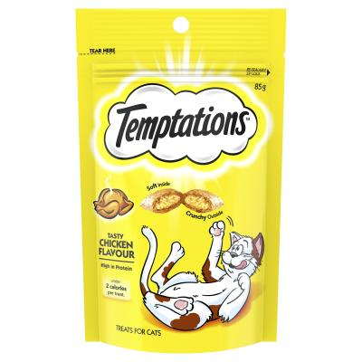 Temptations Tasty Chicken Treats For Cats 85gm