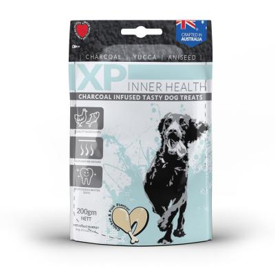 XP Inner Health Charcoal Infused Chicken And Fish Treats For Dogs 200gm