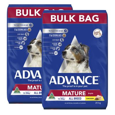 Advance Chicken All Breed Mature 6+ Years Dry Dog Food 40kg