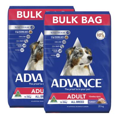 Advance Turkey All Breed Adult 15 Months - 6 Years Dry Dog Food 40kg