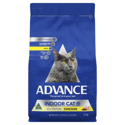Advance Indoor Chicken Adult Dry Cat Food 2kg