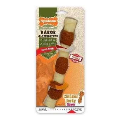 Nylabone Power Dura Chew Kabob Alternative Chicken Jerky Giant Large Toy For Dogs