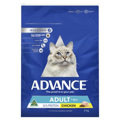 Advance Chicken Adult Dry Cat Food 6kg